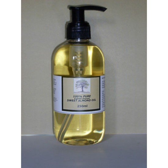 100% pure sweet almond oil 250ml (Expeller Pressed)