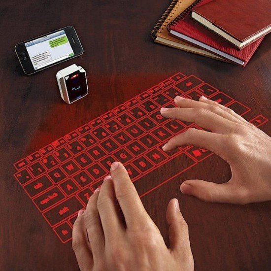 Keybure - laser virtual keyboard