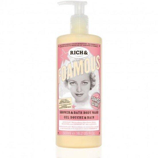 Soap & Glory Rich & Foamous shower gel and bath foam 500ml