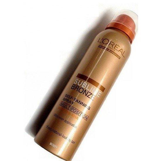 L'oreal Sublime Bronze self-tanning spray 125ml